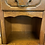 Thumbnail: Pair Of French Oak & Veneer Bedside Tables Each With Drawer & Open Shelf