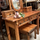 Thumbnail: Old Cottage Furniture Solid Pine Dressing Table & Stool * 2 Left *