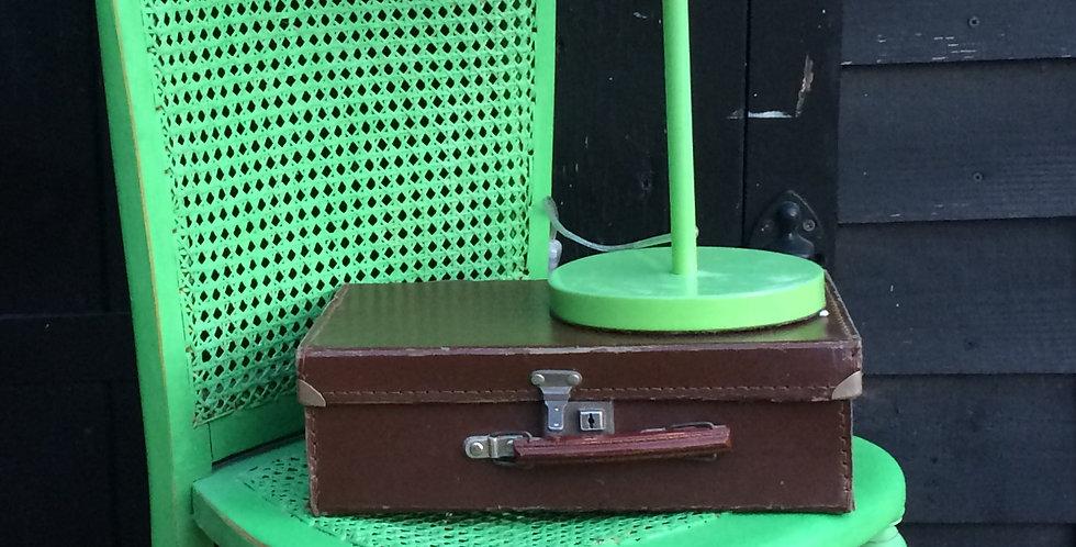 Vintage Green Painted Nursing Chair