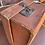 Thumbnail: Smiths Vintage Tan Leather Suitcase Decorators Piece Or Wedding Postbox