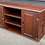 Thumbnail: Oriental Style TV Media Stand With Cupboards & Shelves