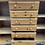 Thumbnail: Tall Ducal Pine Tallboy Cabinet With Drawers & Cupboards