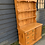 Thumbnail: Victorian Pine Kitchen Dresser Base With Later Added Shelf Top