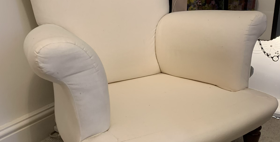 Elegant Victorian Style Multiyork Armchair Spook Back Shape