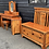 Thumbnail: Old Cottage Furniture Solid Chunky Pine Single Headboard  * 2 Available *