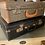 Thumbnail: Stack Of 2 Small Vintage Suitcases Great Decorators Set