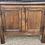 Thumbnail: Rustic 19th Century Joined Oak Double Door Side Cupboard