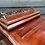 Thumbnail: Traditional Victorian Style Hardwood Slopefront Davenport Writing Desk