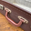 Thumbnail: Small Vintage Brown Suitcase, Decorators Piece Or Wedding Postbox