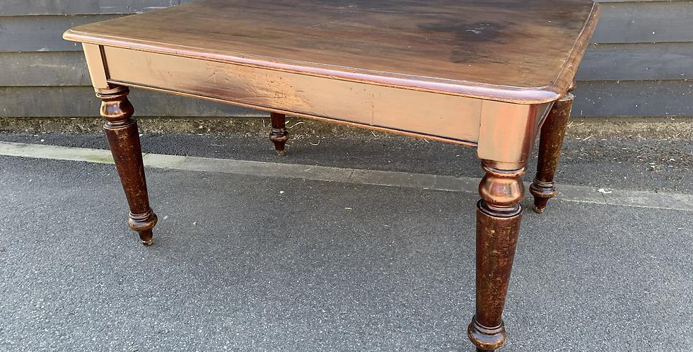 Small Victorian Mahogany Dining Table