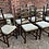 Thumbnail: Set Of Six 1970's Ercol Old Colonial Ladderback Dining Chairs & Carver Armchairs