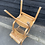 Thumbnail: Pair Of Vintage ESA Children's School Desk Stacking Chairs
