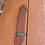 Thumbnail: Traditional Vintage Tan Brown Bentwood Bound Travel Trunk