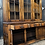 Thumbnail: Fine Quality Large Joined Oak Bookcase Display Dresser