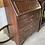 Thumbnail: Narrow Vintage 1940's Oak Slope Fronted Writing Bureau
