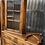 Thumbnail: Fine Quality Joined Oak Single Glazed Door Hanging Corner Cabinet With Brackets