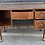 Thumbnail: Queen Anne Style Mahogany Veneer Kneehole Writing Desk / Dressing Table