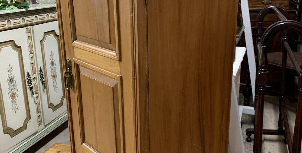 Edwardian Satin Walnut Pot Cupboard