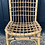 Thumbnail: Retro Mid Century Bamboo & Cane Occasional Side Chair