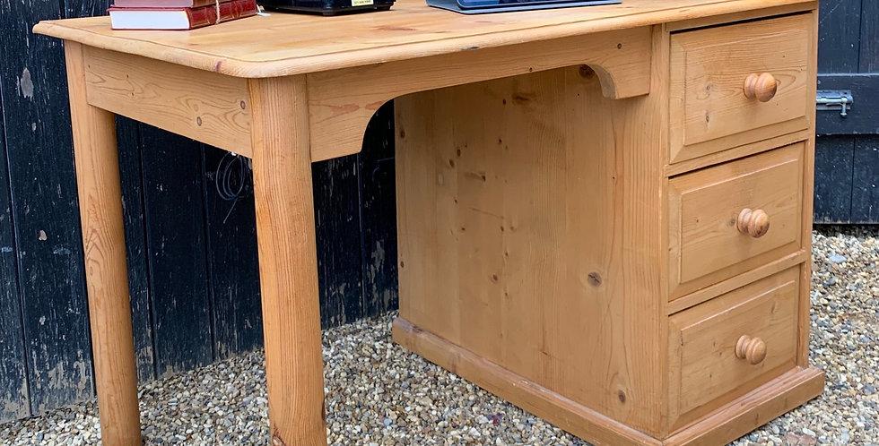 Modern Waxed Pine Desk
