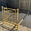 Thumbnail: Victorian Brass & Iron Antique Single 3ft Bed With Box Base