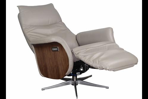 Кресло с электрореклайнером 1004 (серый)