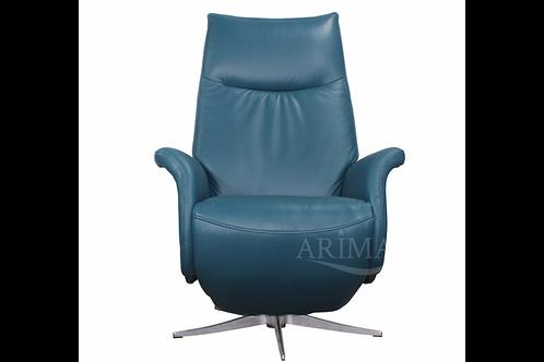 Кресло с электрореклайнером 1004 (морской волны)