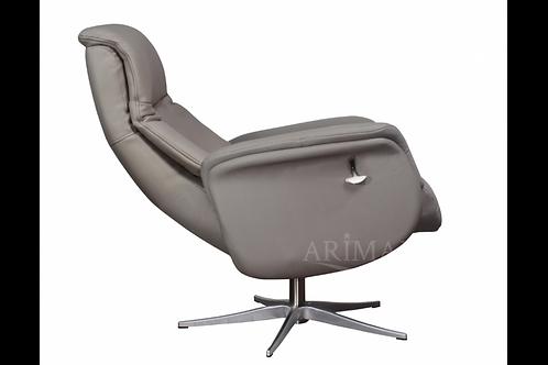 Кресло с реклайнером 1006 (серый)