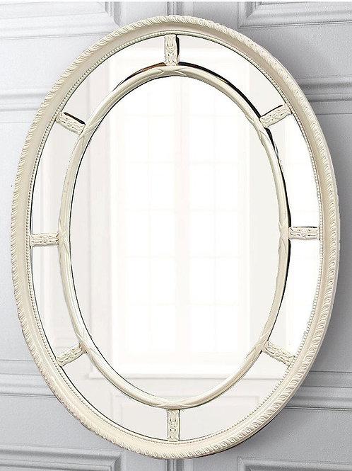 "Зеркало в раме ""Модена"" (distressed chalk white)"