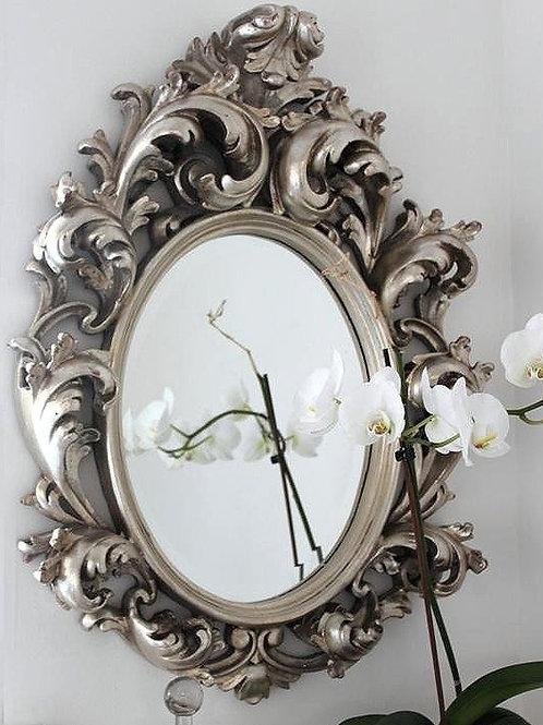 "Зеркало в раме ""Овьедо"" (florentine silver)"