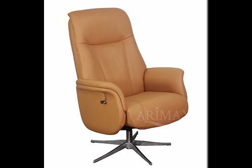 Кресло с реклайнером 1006 (охра)