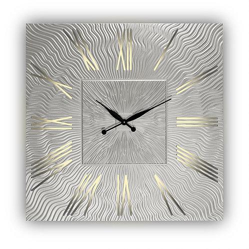 Часы настенные Twinkle Qu (silver)