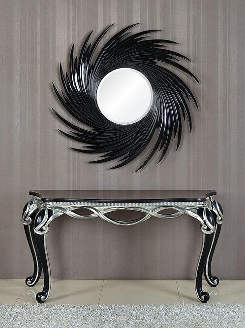 Консоль А89004-1 Calista черная с серебром