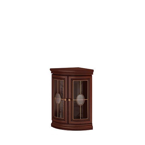 Тумба угловая со стеклянными дверями Silvia Milano
