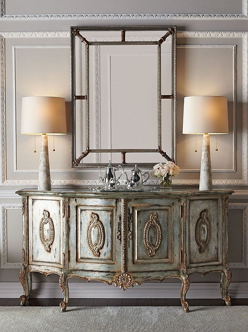 "Зеркало в раме ""Гарри"" (antique silver)"