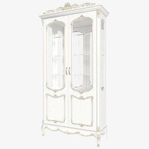 Витрина 2-дверная посудная Елизавета