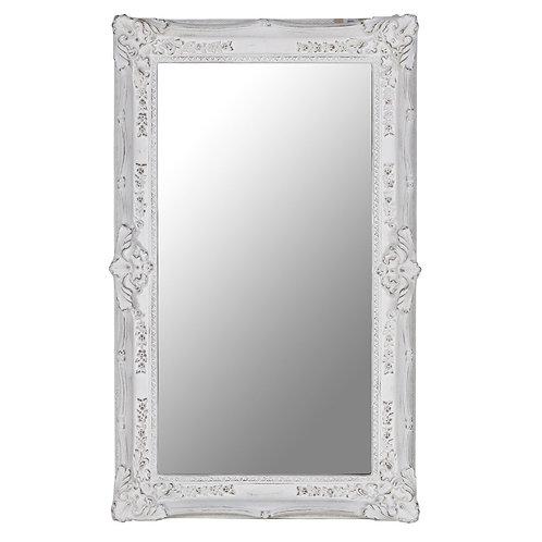 "Зеркало в раме ""Ла-Манш"" (distressed chalk white)"