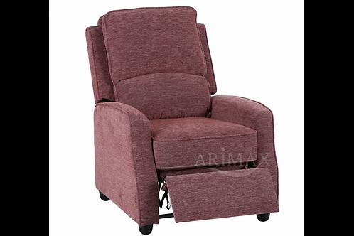 Кресло откидное 2001 (брусничный)