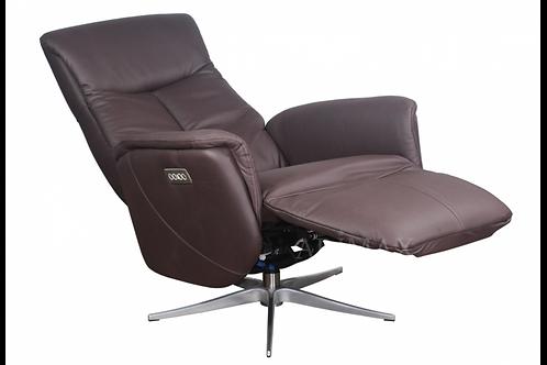 Кресло с электрореклайнером 1005 (каштан)