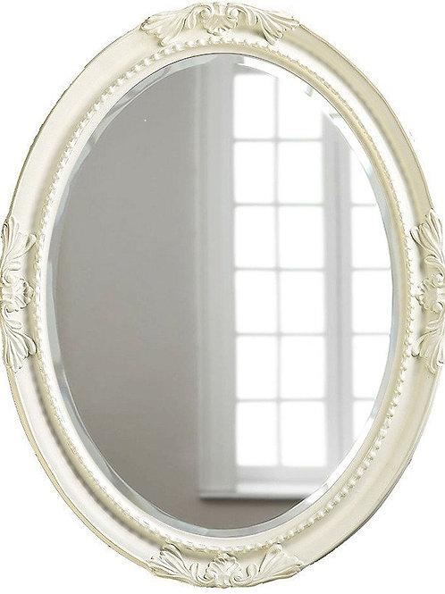 "Зеркало в раме ""Миртл"" (distressed chalk white)"
