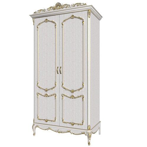 Шкаф 2-дверный для одежды Елизавета