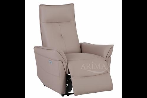 Кресло с электрореклайнером  003 (тепло-серый)