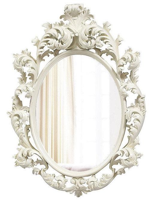 """Зеркало в раме """"Овьедо"""" (ivory)"""