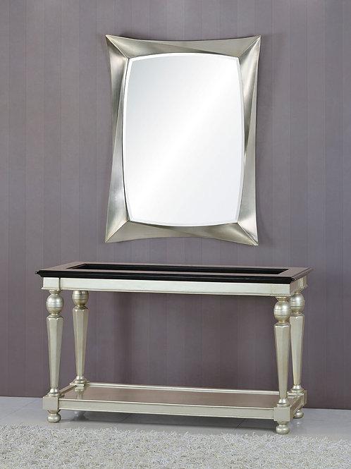 Консоль А89009-1 Beverly серебро с черным