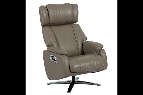 Кресло с реклайнером 2009 (кофе с молоком)