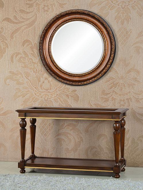 Консоль А89009-2 Beverly коричневая с золотом