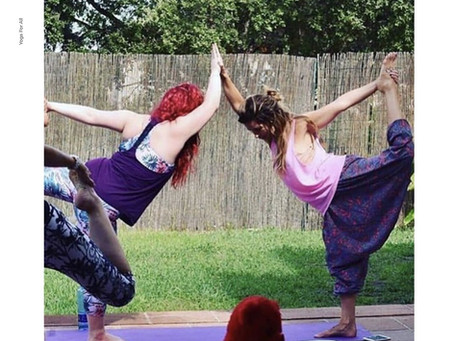 There Is No Competition In Yoga