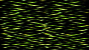Green Glowing Lines