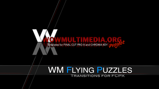 WM Flying Puzzles - Free Transitions for Final Cut Pro X