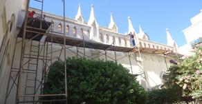 Você está acompanhando as  obras da  Catedral ?